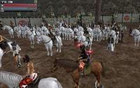 白馬の騎馬隊