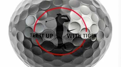 Tee It Up With Tiger Woods ball