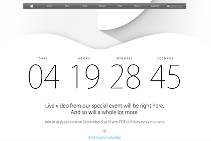 apple special event iphone6