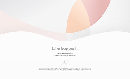 http://www.apple.com/apple-events/march-2016/