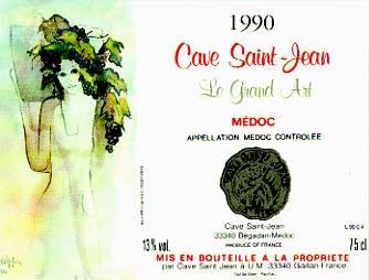 Cave Saint-Jean Le Grand Art 2000