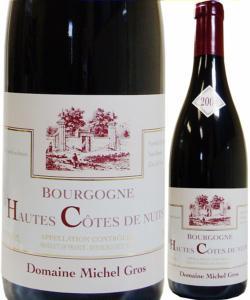 ミシェル・グロ Hautes Côtes de Nuits 2004