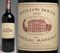 PAVILLON ROUGE DU CH MARGAUX 2002