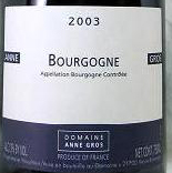 BOURGOGNE ROUGE 2003