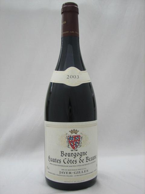 オート・コート・ド・ボーヌ ジャイエ・ジル 2003