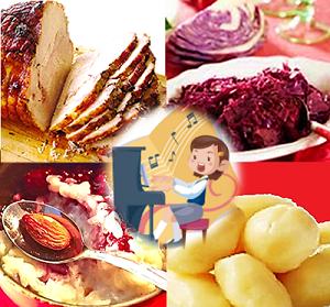 デンマークのクリスマス料理・4品
