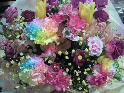 キレイなお花をありがとうございました!