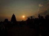 プノンバケンからの夕日