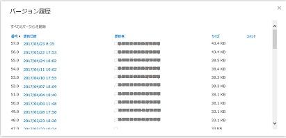 OneDriveバージョン履歴 すべて削除