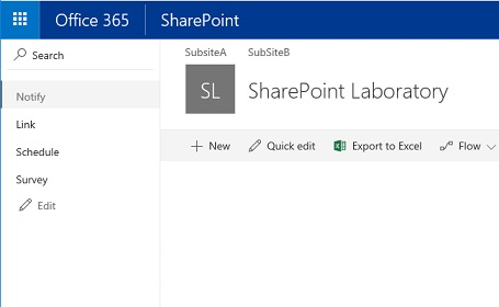 SharePoint Modern navigation seattle