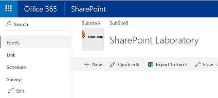 SharePoint Modern Site Logo