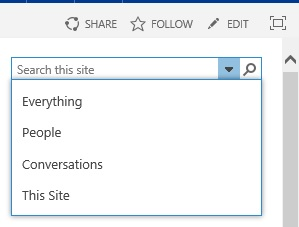 SharePoint Classic SearchBox