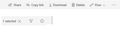 SharePoint Modern Commandbar 04