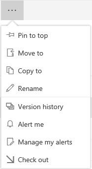 SharePoint Modern Commandbar 05