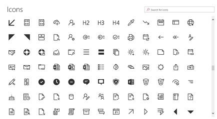 SharePoint Online Modern UI WebPart Quick links icon 9