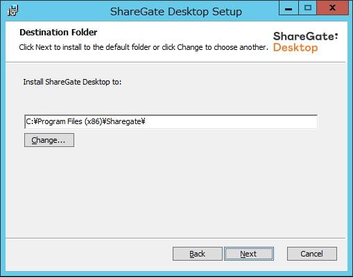sharegate install 4
