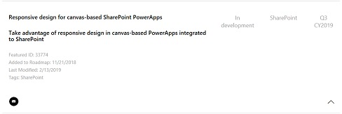 Responsive design for canvasbased SharePoint PowerApps