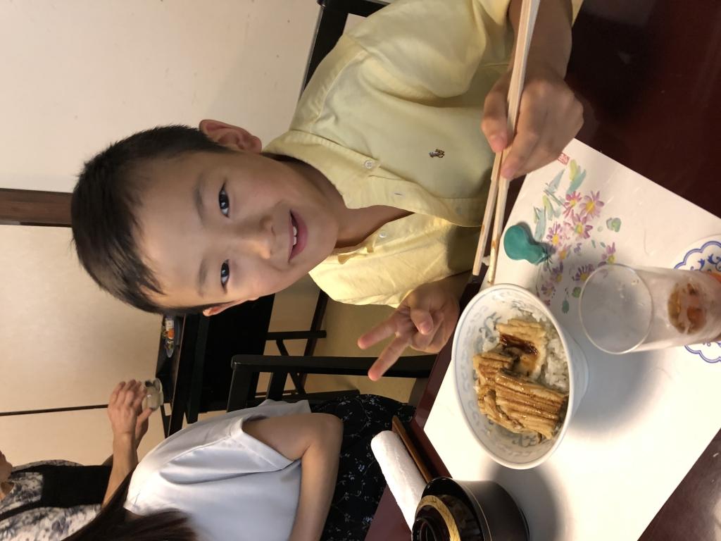 子供用のアナゴ丼
