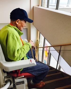 椅子昇降機