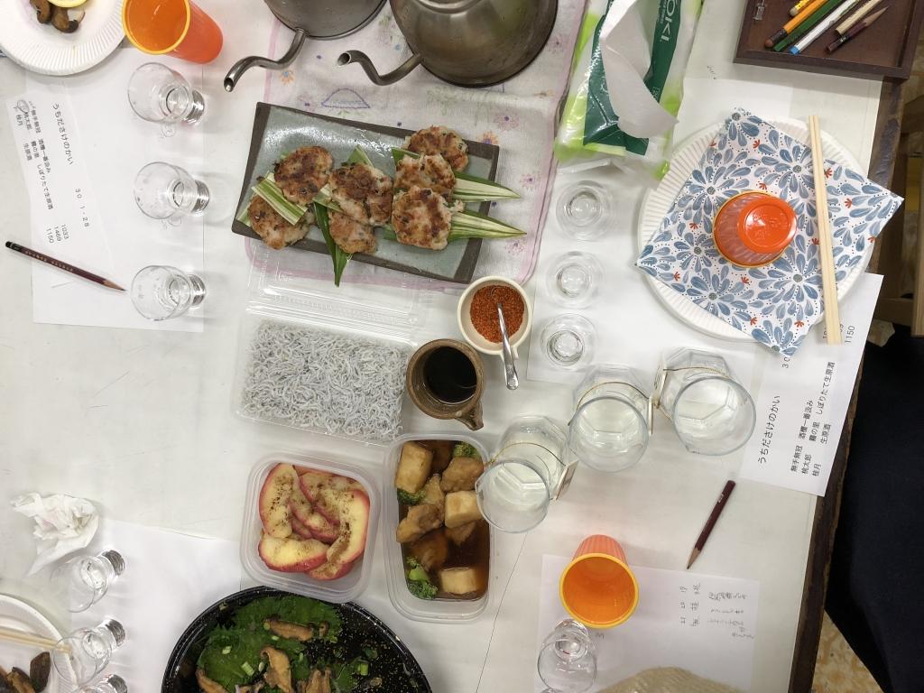 酒の会2018,1food2