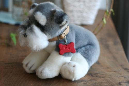 犬用ネームタグ ボーン型