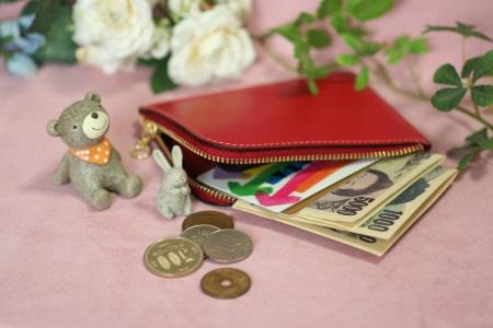 L字ファスナー財布