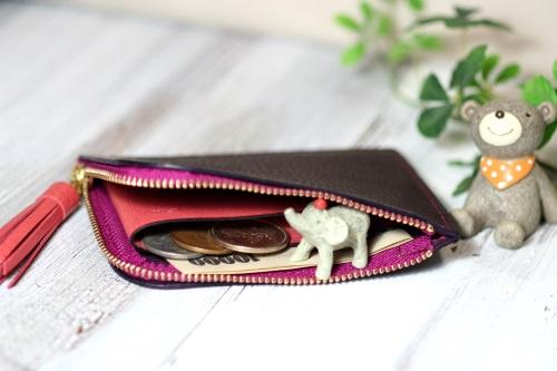 L字ファxスナー財布