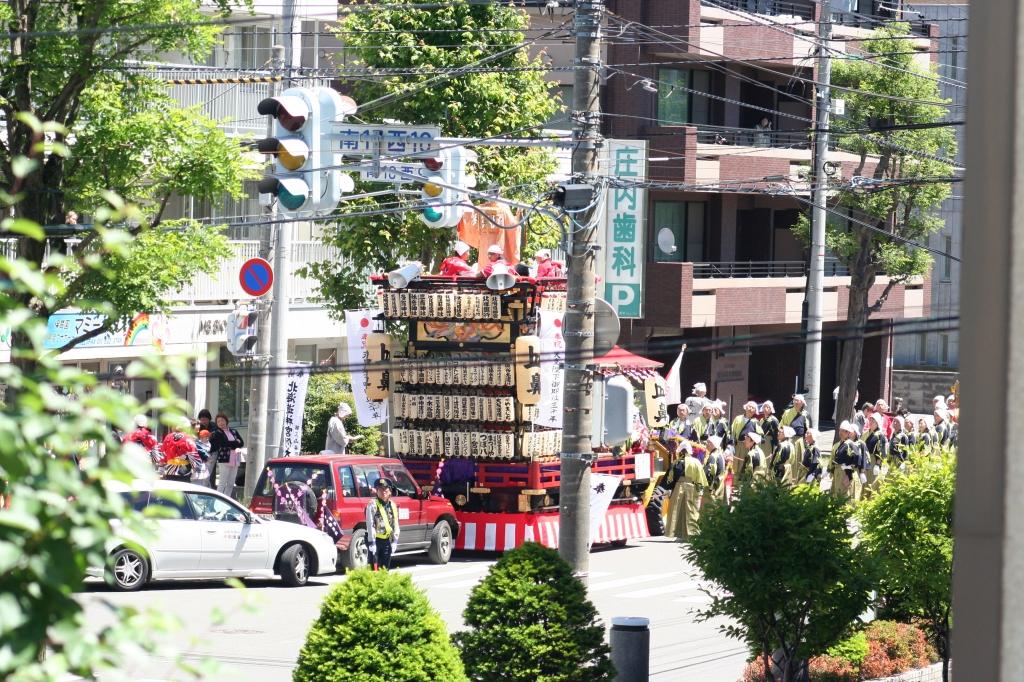 札幌祭り なないろレザークラフト