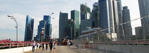 シンガポールマリーナベイ