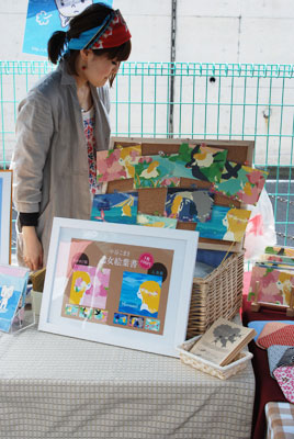 中谷こまきさんのイラストポストカードたち