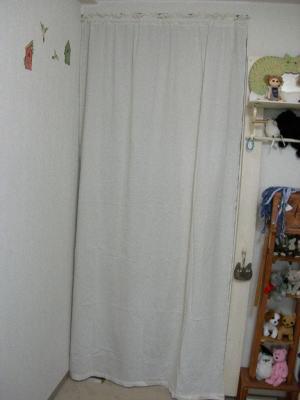 白い布で隠す。出来上がり(笑)