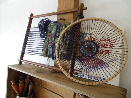 いろいろなフレーム織りがありますなー。
