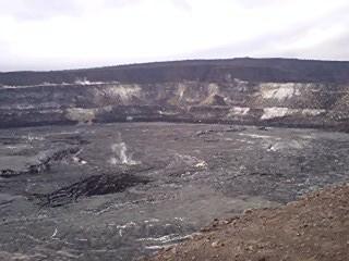 ハワイ島キラウエア火山