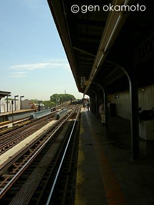 N.Y. train station