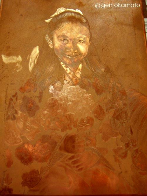 銅版画制作