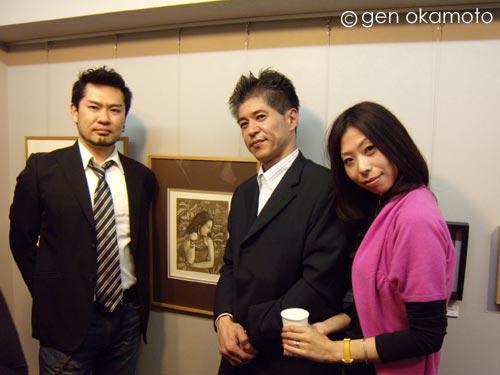 5人の銅版画家展