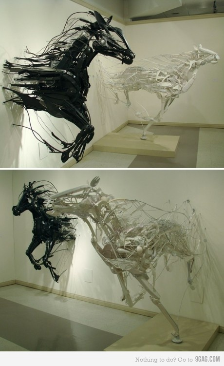 cool horse objects