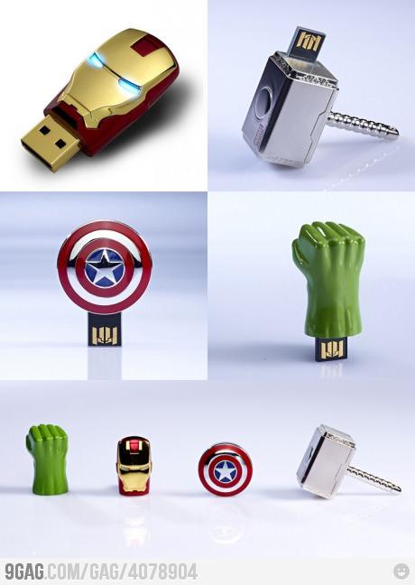 The Avengers USB