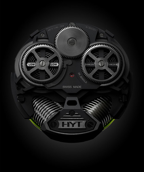 HYT H2 Hydro Mechanical Watch