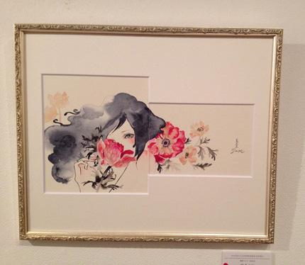 """sioux個展 """"ロマネロス"""" 現代美人画"""