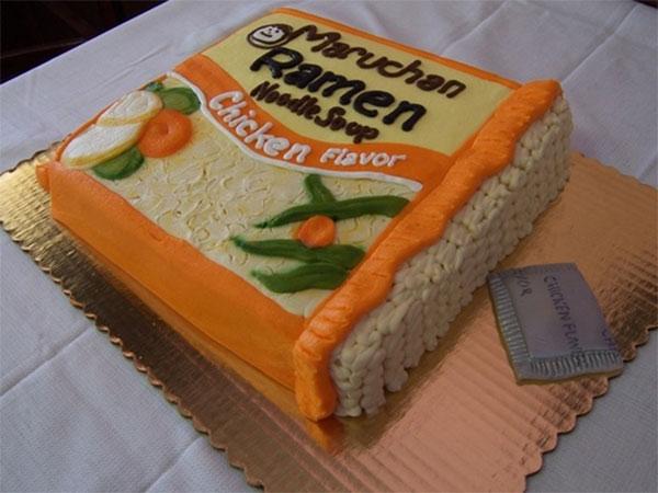 Ramen Cake