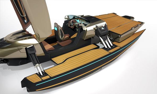 Kormoran Transforming Boat