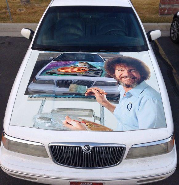 Bob Ross car
