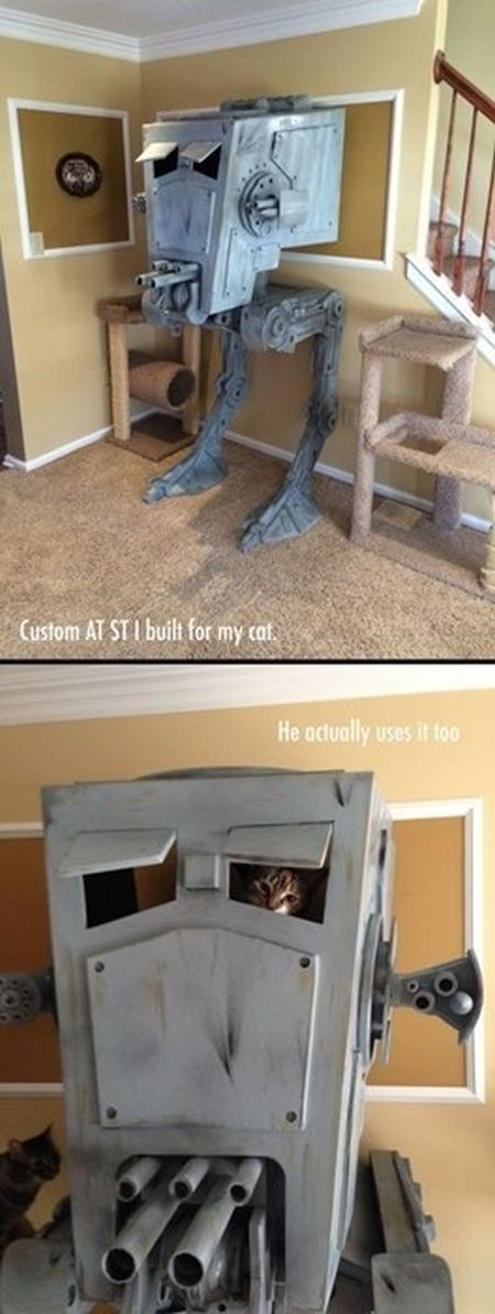 cat tower AT-ST