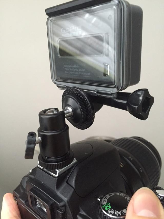 一眼レフ GoPro