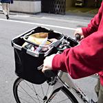 買い物カゴになる!簡単脱着クロス・ロードバイク用カゴsum