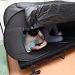 おひとり様用折りたたみ式テント「ベッドdeテント」sum