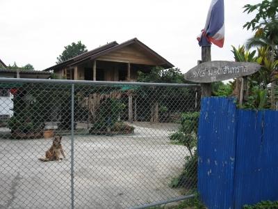 北タイ様式の家02