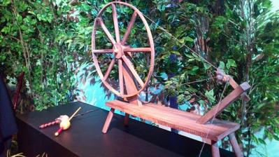 糸車とアプアル杖