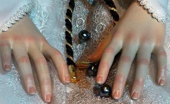 白エリーゼの手